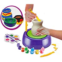 Blossom Imaginative Arts Pottery Wheel Game Skill Development ,Learning, Creativity & Educational Game for Kids, (Multi Color)