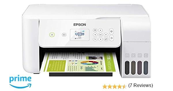 Epson EcoTank ET-2726 - Impresora de inyección de tinta 3 en 1 (Impresora, escáner, fotocopiadora), DIN A4, WiFi, USB 2.0)  pantalla LCD de 3,7 cm , ...