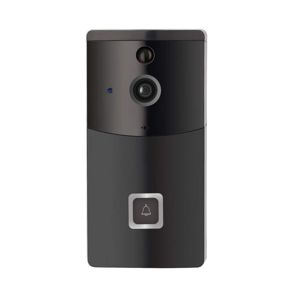 Intelligente drahtlose Video-Türklingel, Wi-Fi-Türklingel-Kamera HD 720P Home-Überwachungskamera mit bidirektionalem Gespräch und Video für iOS und Android-Smartphone