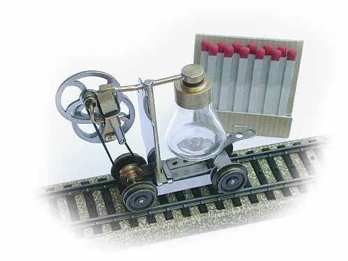 Dampfmaschine Mini Draisine H0 (1:87), Bausatz