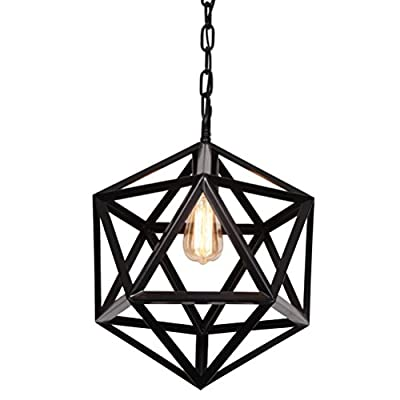 Ella Fashion Vintage Style Curved Top Light Cage for Chandelier Light Lamps
