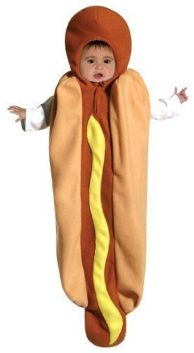 Hot Dog Bunting Costume (Infant) by Unknown