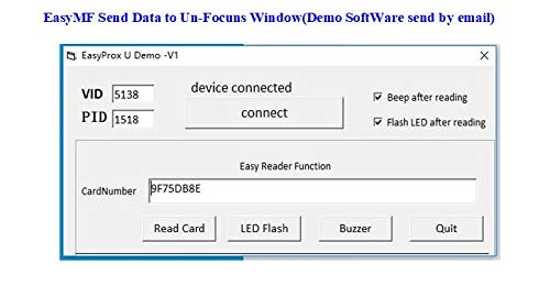 RFID Reader Writer Mifare Ultralight Card CSN Reader Writer