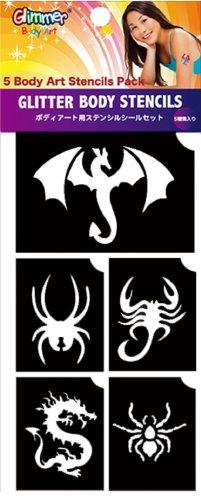 Dragons & Spiders Stencils