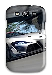 Hot New Style Tpu S3 Protective Case Cover/ Galaxy Case - 2014 Toyota Ft 1 Vision Gt4 3014251K60353148