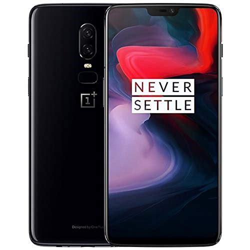OnePlus 6 A6000 Dual-SIM (128GB Storage | 8GB RAM) Factory Unlocked 4G Smartphone (Midnight Black) - International Version