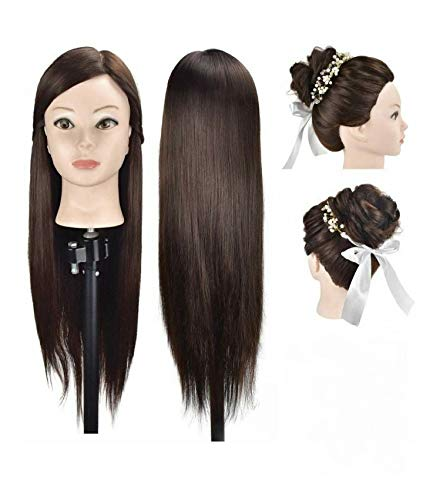 Pema Hair Extensions And Wigs Saloon Use Hair Dummy For Hair Styling Practice Cutting Brown Buy Online In Sri Lanka At Desertcart Lk Productid 117281855