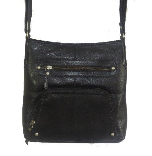 Handbag Genuine Slot 427 Pocket amp; Black Taylor Leather Paul Crossbody with Card BKqXaSKHpR