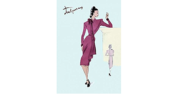 Amazon Com Flap Over Button Dress 1947 Poster Print By Unknown 24 X 36 Posters Prints
