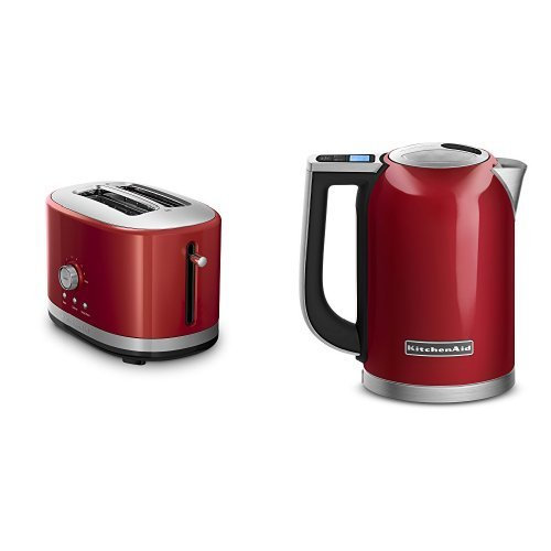 kitchenaid electric kettle red - 5