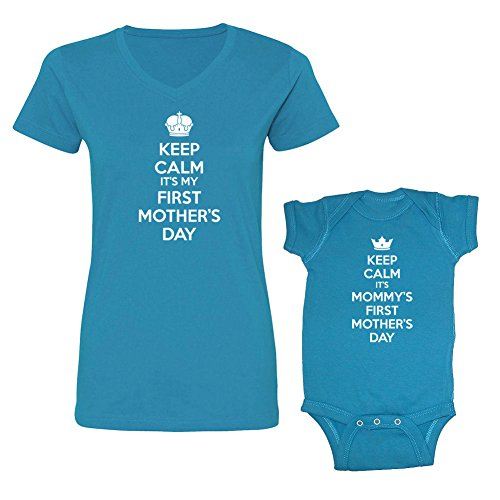 Matching Mom-Baby First Mother's Day Clothes