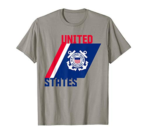 Patriotic Auxiliary Coast Guard Gift T Shirt - Guard Auxiliary States Coast United