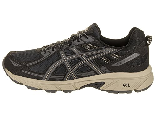Asics 11 Uk Plume Hommes Noir Chaussures Gris 6 Gel Fonc venture fwT6qfr