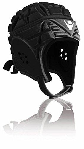 Casco Casco de Protección de Puertas de Calcio/Rugby Helmet MACRON negro Talla:XS