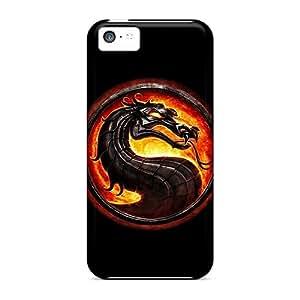 Special BrownCases Skin Case Cover For Iphone 5c, Popular Mortal Kombat Phone Case