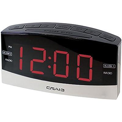 craig-electronics-digital-clock-radio