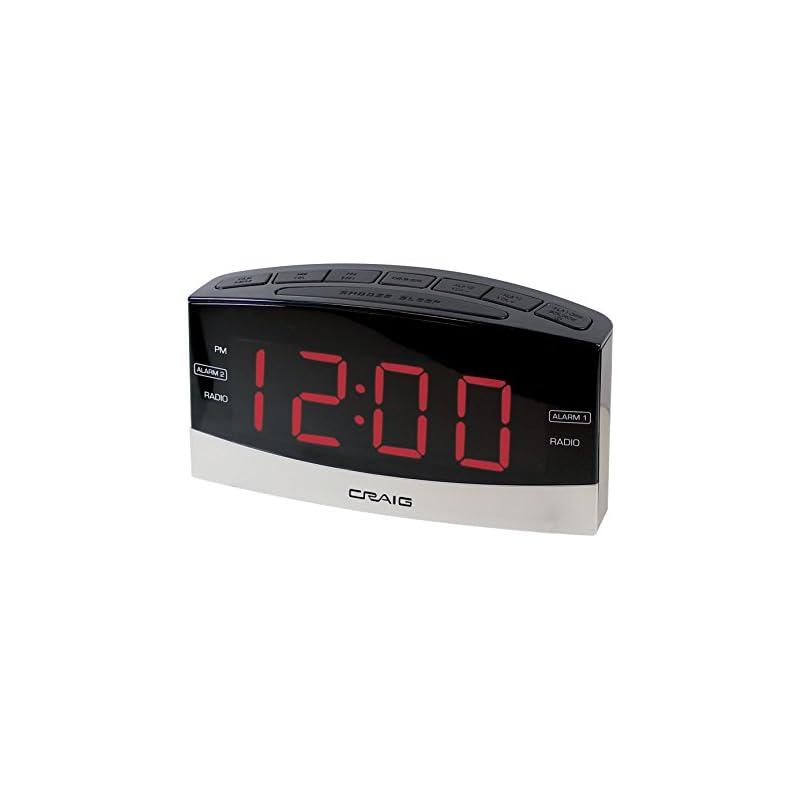 Craig Electronics Digital Clock Radio Al
