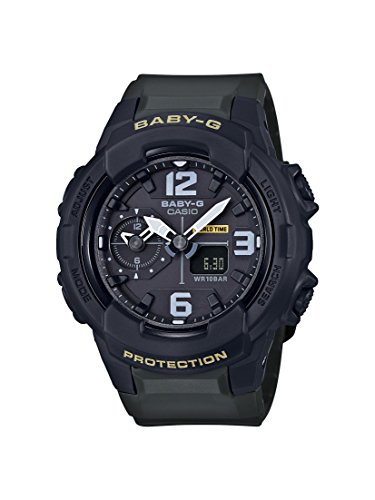 Casio Baby G Black Dial Polyurethane Strap Ladies Watch BGA-230-3B (Dial G Watch Baby)