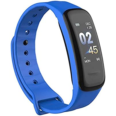 DMMDHR Smart Bracelet IP67 Fitness Tracker Blood Pressure Heart Rate Monitor Sleep Tracker Wristband for Android IOS Estimated Price £29.60 -