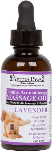 Aroma-Paws-Massage-Oil-2-Ounce-Lavender
