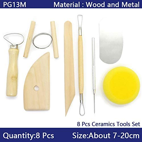 Clay Sculpting Tools Set Pottery Carving Wax Modeling Polymer Shapers Ceramic 1X