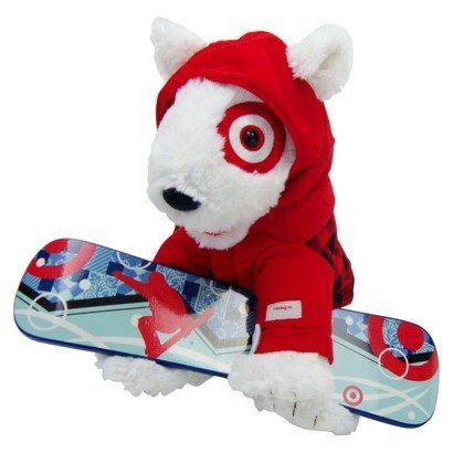 Target Exclusive Limited Edition 2013 Mascot Bullseye Plush St Judes Childrens Hospital Dog