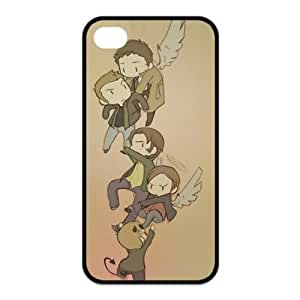 Treasure Design Funny Cartoon Supernatural APPLE IPHONE 4/4S Best Rubber Cover Case