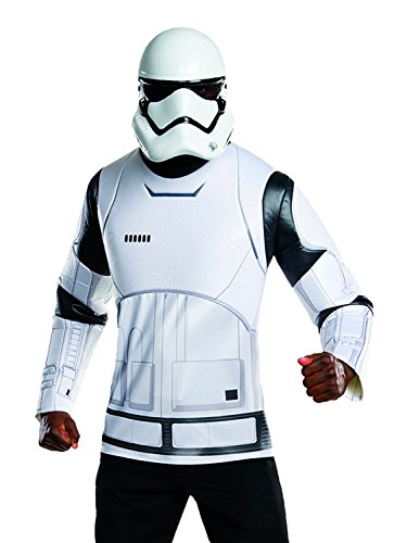 Star Wars Rubie's Costume Co Men's VII The Force Awakens White Villain Trooper, Multi, X-Large ()