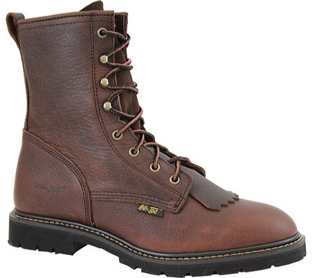 Adtec Hombres Chestnut 9in Lacer Botas De Trabajo Leather Packer 12 M