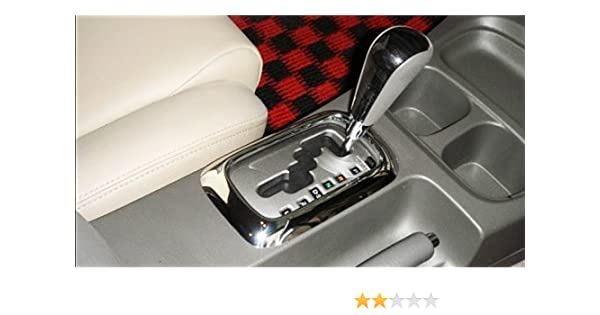 Amazon.com: Toyota Hilux Mk7 Sr Ute Vigo Fortuner 11-12 Chrome Auto Gear Gearshift Surround: Automotive