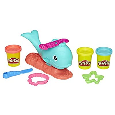 Play-Doh Wavy the Whale: Toys & Games