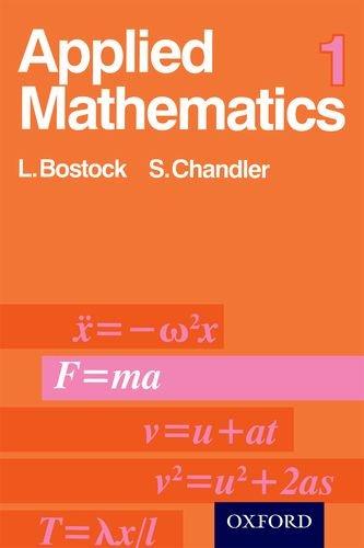 Applied Mathematics: v. 1