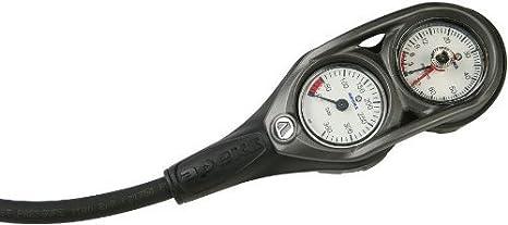 5000psi 230ft Profondimetro Unica Console Manometro Profondimetro Console 2-Gauge APEKS Console Manometro