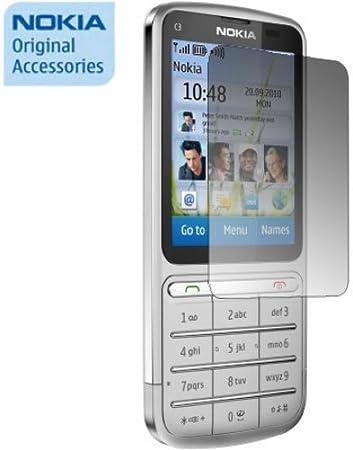 Nokia CP-5011 - Protector de pantalla (Teléfono móvil/smartphone, Nokia C3 Touch and Type): Amazon.es: Electrónica