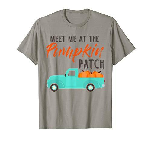 Meet Me At The Pumpkin Patch Halloween Costume Shirt