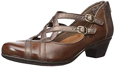 ROCKPORT Cobb Hill Womens CH3043 Cobb Hill Abbott Curvy Shoe Multi Size: 7 US