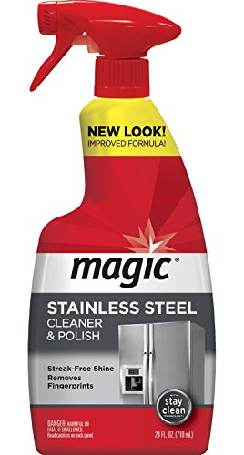 Magic Stainless Steel Cleaner Spray, 24 fl oz - Stainless Steel American Fridge