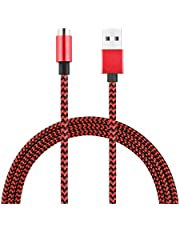 Nylon Braided Magnet Charging Cable for Protrek Touchscreen Outdoor Smartwatch Casio WSD-F21HR,WSD-F30,WSD-F20,WSD-F10