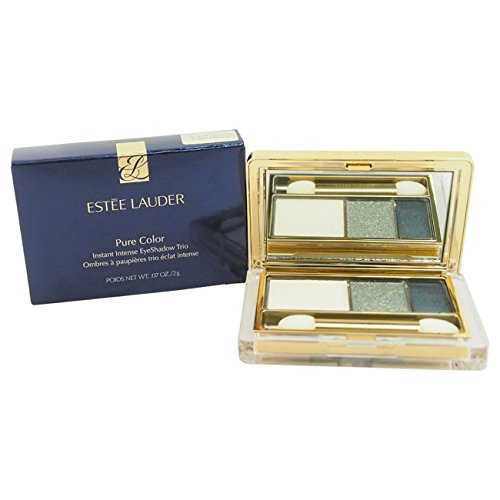 Estee Lauder Pure Color Instant Intense Trio Eye Shadow, Camo Chrome, 0.07 Ounce