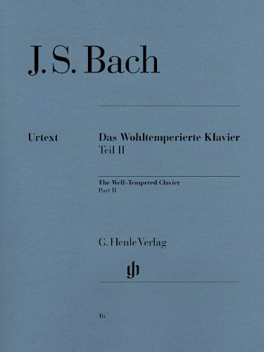 - Bach: The Well-Tempered Clavier - Part II, BWV 870-893