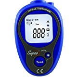 Supco PIT6L Mini Infrared Thermometer, -20 to 270 Degrees C, -4 to 518 Degrees F, Accuracy of + or - 1% of Reading Plus 3 Degrees C