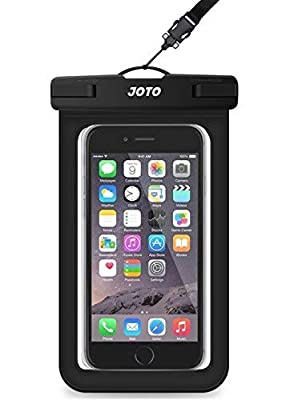"Universal Waterproof Case, JOTO CellPhone Dry Bag Pouch for Apple iPhone 6S 6,6S Plus,SE 5S 7, Samsung Galaxy S7, S6 Note 5 4, HTC LG Sony Nokia Motorola up to 6.0"" diagonal"