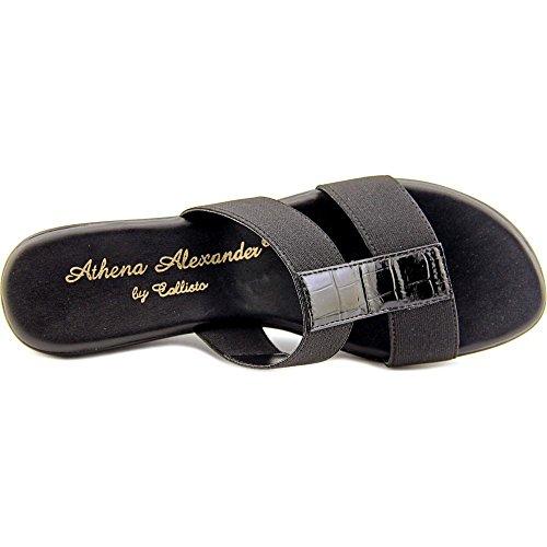 Platform Ali Womens Callisto black Black Sandals Casual Toe Open XUddwq
