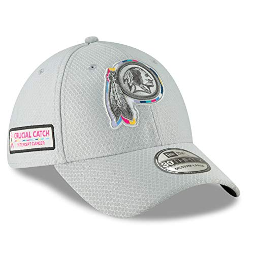 New Era 39Thirty NFL Washington Redskins Crucial Catch Stretch Fit Hat (L/XL) (New Era Stretch)