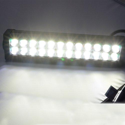 "Nilight 10-30v 13.5"" 72w Led Off Road Suv Jeep Off Road Truck Atv High Power Light Bar Work Lamp 6000 Lm White Flood Beam Lights New High Quality"