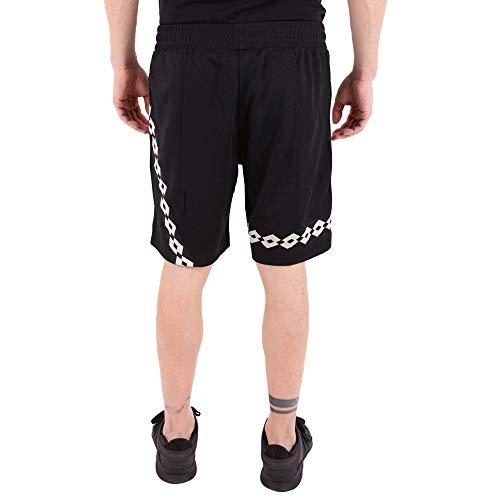 X Noir Lotto Cs1m0072j180199 Shorts Homme Polyester Damir Doma 8w7q5xA