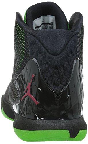 Nike Jordan Super.Fly 4, Scarpe Sportive da Uomo Black/Gym Rd-grn Pls-infrrd 23