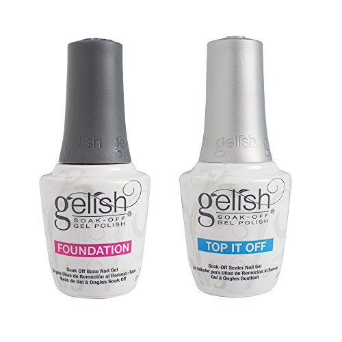 Nail Duo - Gelish Dynamic Duo Soak Off Gel Nail Polish - Foundation Base and Top Sealer