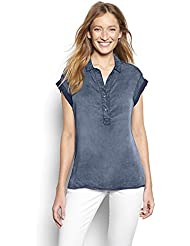 Orvis Womens Tencel Short-Sleeved Popover