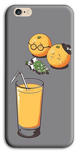 Mixroom - Cover Custodia Case In TPU Silicone Morbida Per Apple Iphone 5 5s M595 Funerale Tra Arance